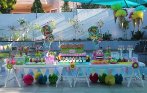 CANDYLAND SWEET TABLE