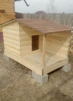 How To Build A Quick And Easy Dog House (6 pics)