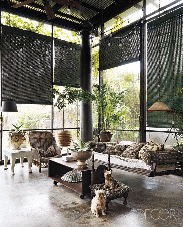 Best 25 sunroom blinds ideas on pinterest woven blinds for Concrete homes texas