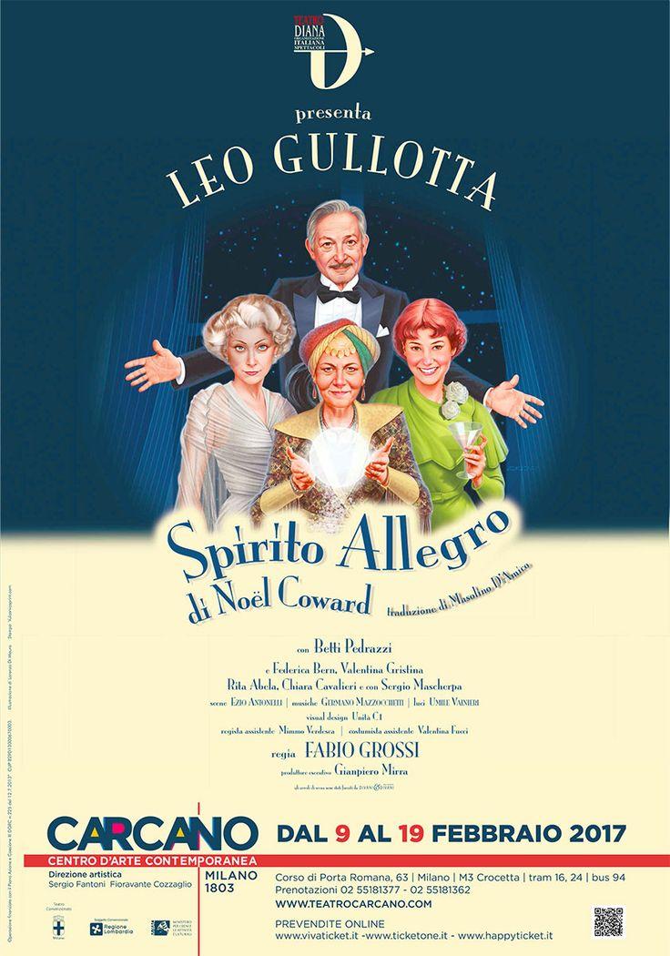 Leo Gullotta in SPIRITO ALLEGRO | Teatro Carcano