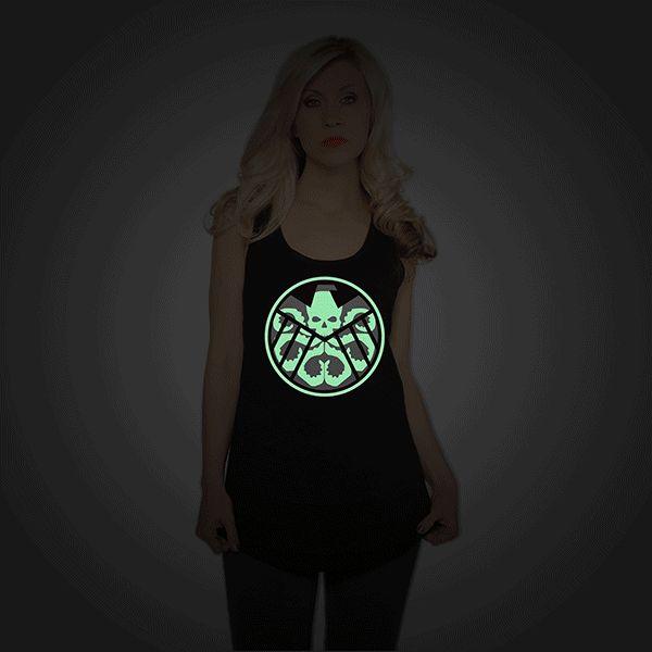 Hydra Glow-In-The-Dark Ladies' Tank Top