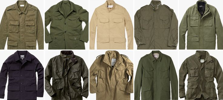 10 Military Field Jackets to Sport on the Streets