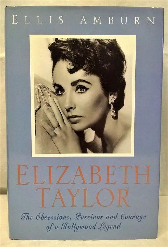 ELIZABETH TAYLOR FILM ACTRESS BIOGRAPHY BOOK BY ELLIS AMBURN - FIRST EDITION