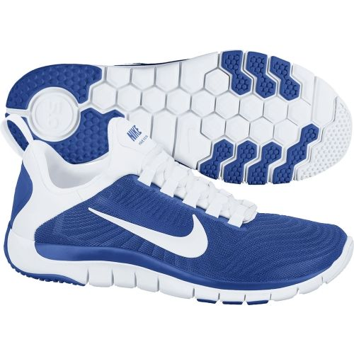 ef655045d44e ... coupon for mens nike free trainer 5.0 cross training shoes finishline  university blue white reflect silver