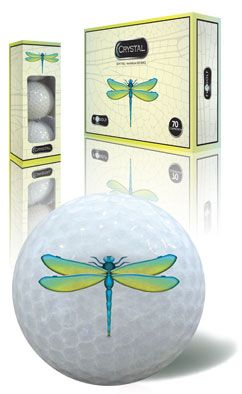 FL Golf Ladies Crystal Golf Balls (1 Dozen) – Dragonfly Lori's Golf Shoppe