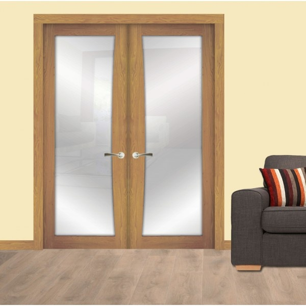 Our White Oak Shaker Bow 1 Light interior doors are perfect to double up and are & 16 best Door and Floor Store: Interior Doors images on Pinterest ...