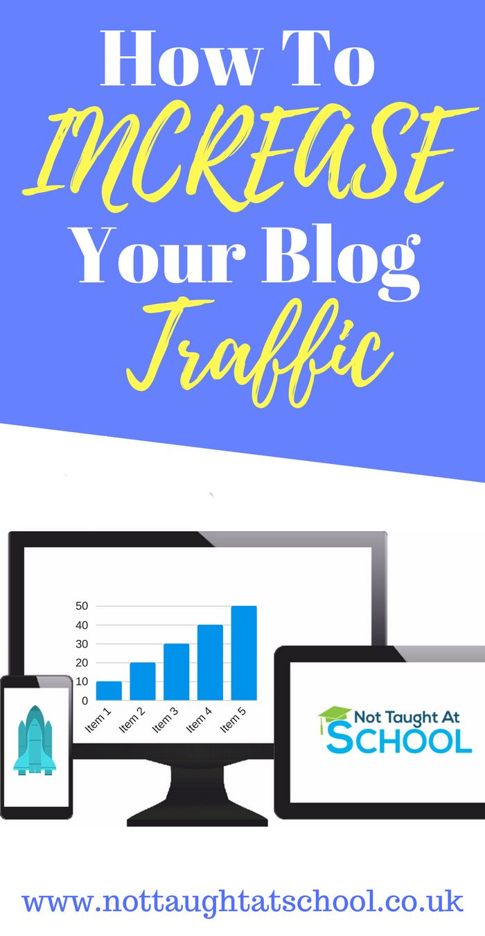 How to increase your blog traffic. In our September update I share with you how I managed to increase page views by 70,000 in a month, click here to see the full article. #blogtraffictips #blogtraffic #blogtrafficincrease #blogtrafficpinterest #IncreaseBlogTraffic #nottaughtatschool