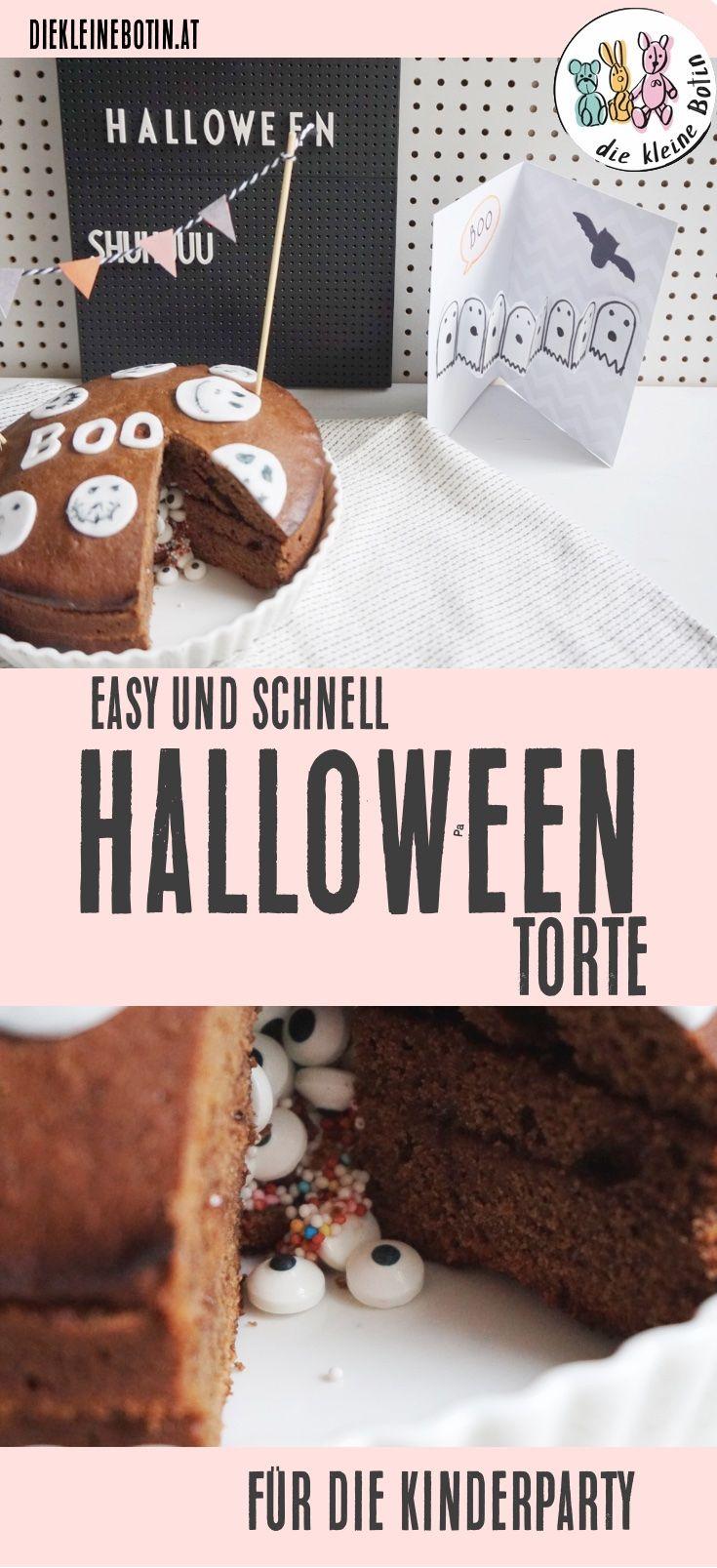 Halloween mit Kindern: Etwas gruselig darf es schon sein, aber vor allem zählt der Spaß DIY-Karten mit Geister und die coolste Pinata-Torte1  Einfach und schnell gemacht, ist sie der Star auf jeder Halloween-Party  #halloween