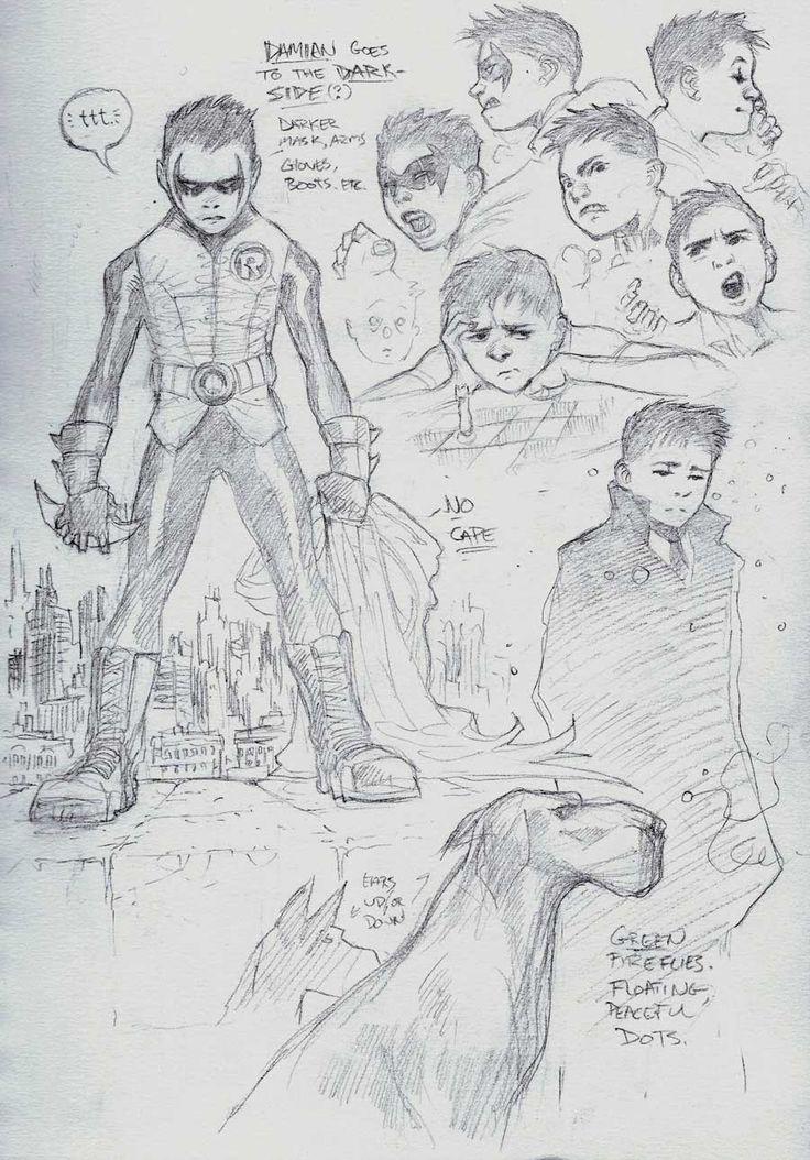 Robin by Comic Book Artist Patrick Gleason