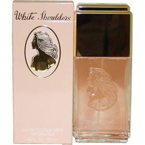 """White Shoulders perfume This was my first """"grown up"""" perfume.  It's has an delicate floral scent.  I haven't worn it in years but I still love the smell of it!"""