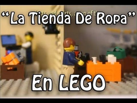 """La Tienda De Ropa"" en LEGO- FEATURING:""The Crimson bolt!"" - YouTube"