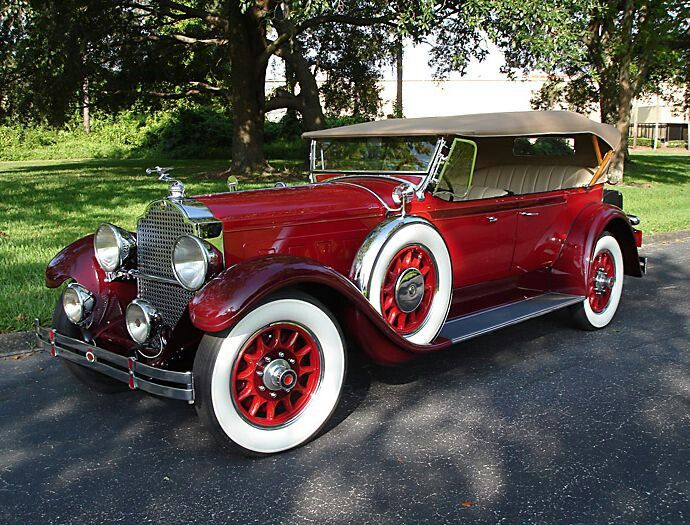 getaway car 1929 packard from coles classic cars in orlando florida