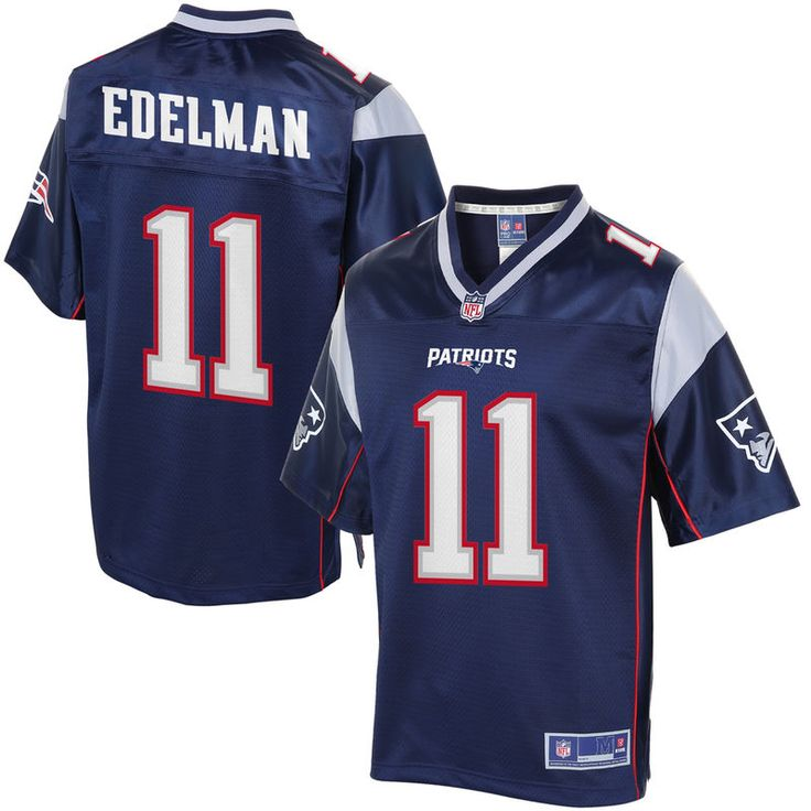 Mens New England Patriots 11 Julian Edelman jerseys Nike navy blue home  elite Youth New England Patriots Julian Edelman NFL Pro Line Navy Team  Color Jersey ... 7a458ee5e