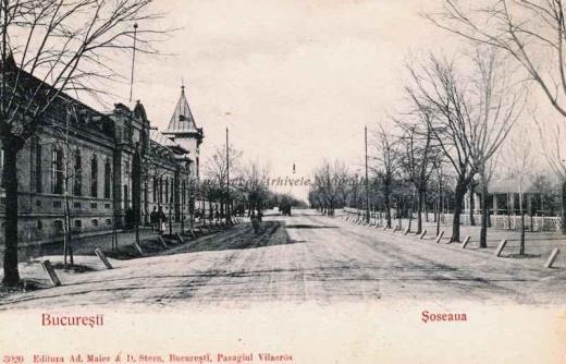 BU-F-01073-5-06353 Şoseaua Kiseleff din Bucureşti, s. d. (sine dato) (niv.Document)