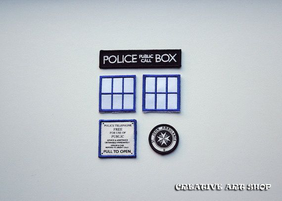 Hey, I found this really awesome Etsy listing at https://www.etsy.com/listing/164566613/inspired-doctor-who-set-of-5-tardis