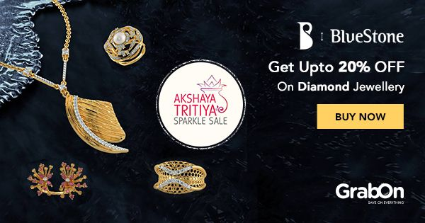 Celebrate the auspicious #AkshayaTritiya with the Akshaya Tritiya Sparkle Sale!  #jewelry #Diamonds #Festival #offer #india #gold #bluestone