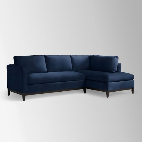 Blake Down Filled 2 Piece Chaise Sectional