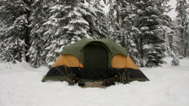 Amazing Tips to Survive Cold Weather Winter Camping #camping #winter #travel