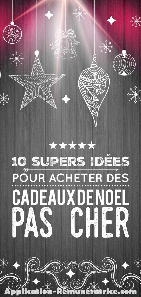 10 Astuces pour acheter des Cadeaux de Noël Pas Cher | Liste de