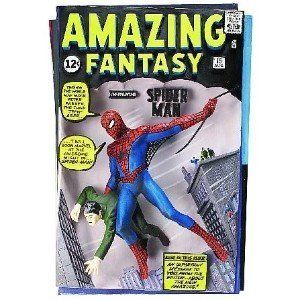 Spider-Man Comic Book Cover Die-Cast Collectible