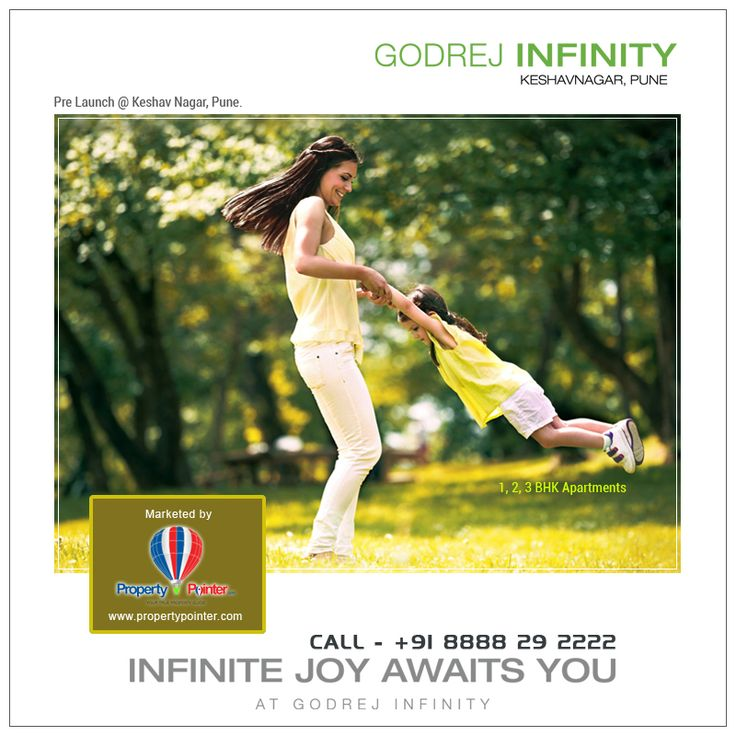 The Godrej Infinity Pune project is located in the vicinity of river Mula-Mutha located in Keshav Nagar, Pune. The residents would not only be overjoyed and relaxed with the luxury of living in such apartments, but also feel proud of the ownership for more details please visit http://propertypointer2015.blogspot.in/2016/04/godrej-infinity-keshav-nagar-pune_51.html