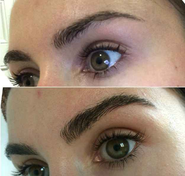 Or, grab an eyebrow growth serum to get your brows thicker naturally over time.