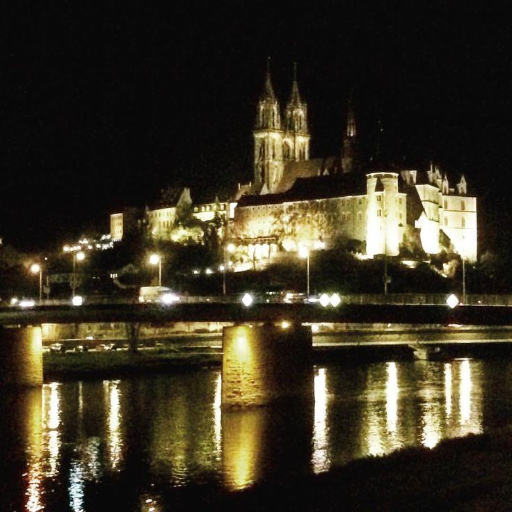 Albrechtsburg bei Nacht