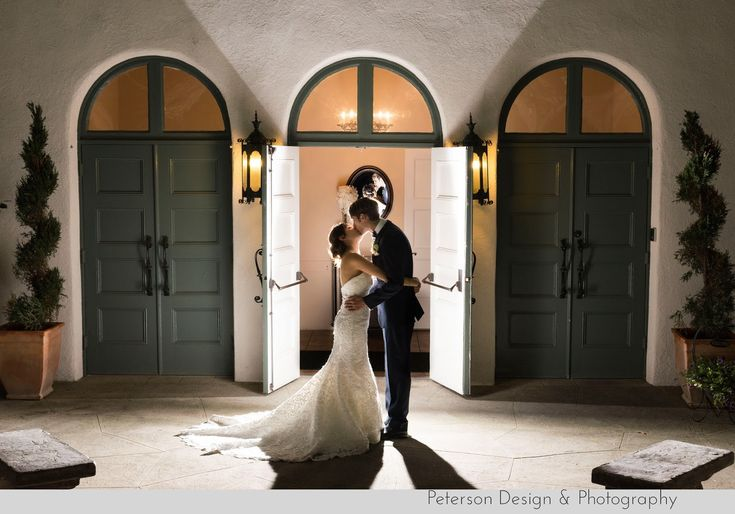 Wedding at La Canada Thursday Club in La Canada Flintridge with nature, wood and handmade details end of the night shot