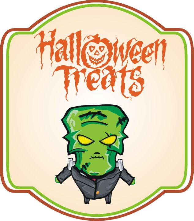 Etykietki na Halloween do pobrania!