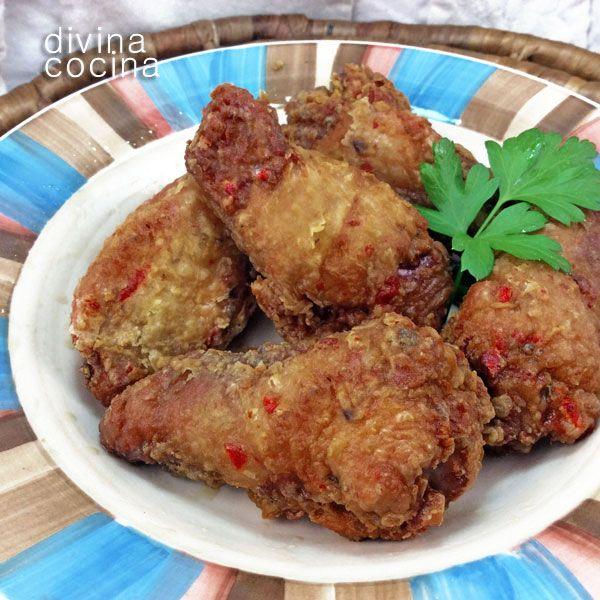 Para hacer estas alitas de pollo picantes puedes usar también cayena en polvo, o pimentón picante en lugar de dulce. Puedes acompañar con salsa barbacoa o con yogur natural batido con unas hojas de menta.