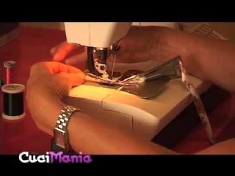 Cucimania #12 - Come si attacca uno sbieco - YouTube