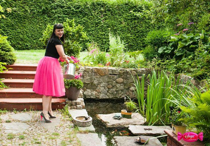 """""""Księżniczkowa"""" spódnica- bawełniana podszewka, 2 warstwy tiulu, na gumce Princess dress"""