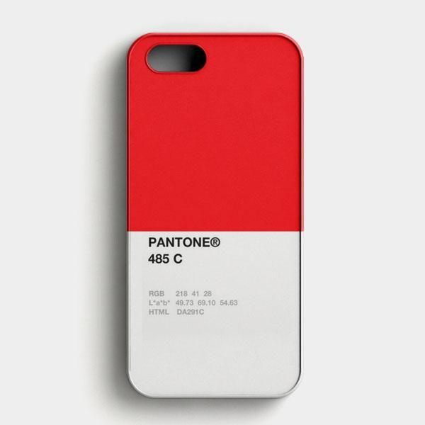 Pantone 485 C iPhone SE Case
