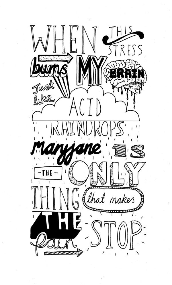 Typography by Charly Clements, via Behance