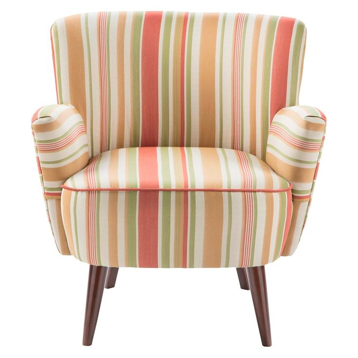 Jla Sarah Printed Fabric Accent Chair: Fabric Accent Chair, Upholstered Chairs