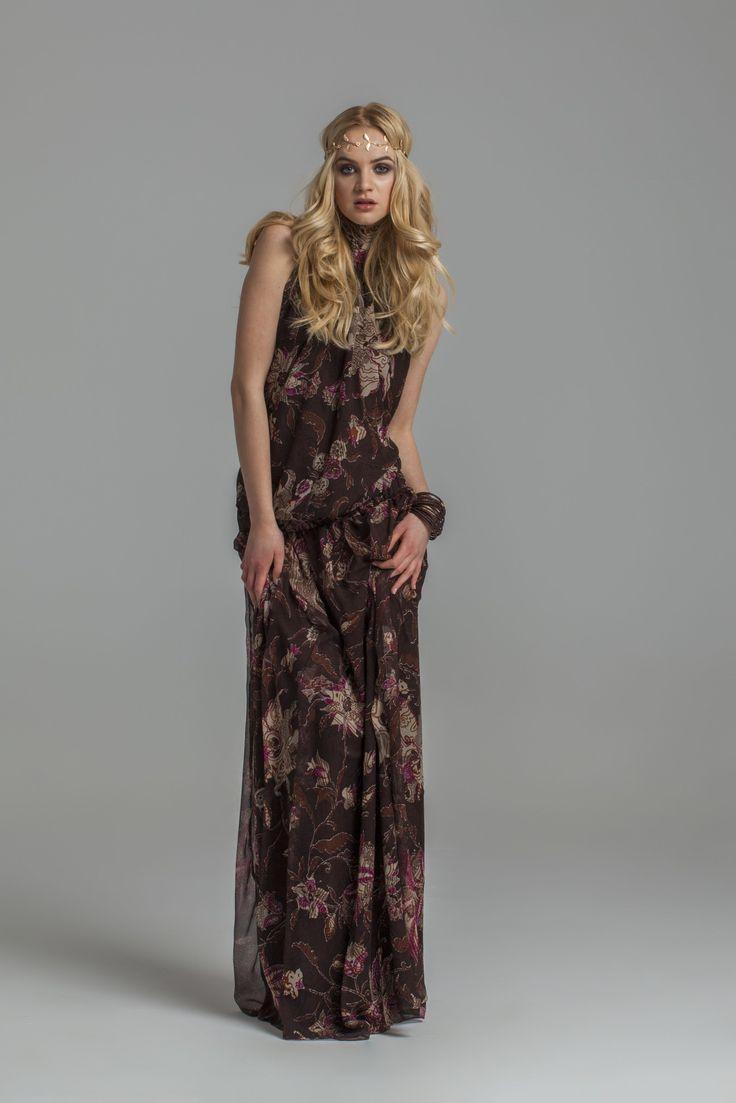 sukienka, boho, hipisi, maxi dress www.joannawodzinska.pl