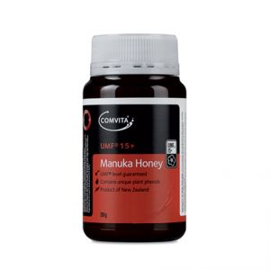 Mierea de Manuka UMF 15+ . Mierea de Manuka are proprietati antiseptice, antibacteriene si antibiotice.   GreenBoutique.ro - Magazin online cu produse cosmetice bio Centifolia si miere Manuka.