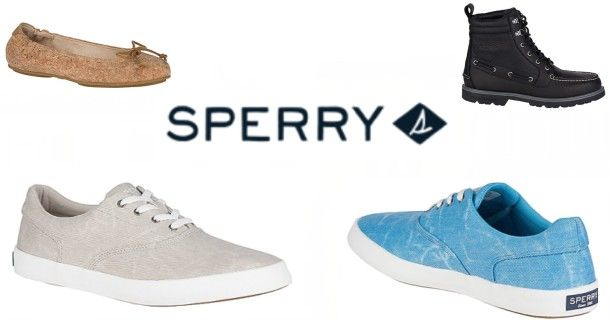 Sperry Shoe Sales Starting As Low As $17.49 + Free Shipping!