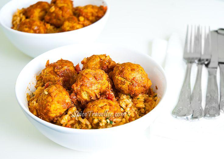 ... bahraini prawn balls and rice by spicetraveller com bahraini prawn
