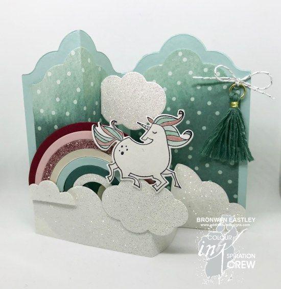 Magical Day, Rainbow Builder Framelits, Colour INKspiration, addinktive designs, Labels Z-Fold