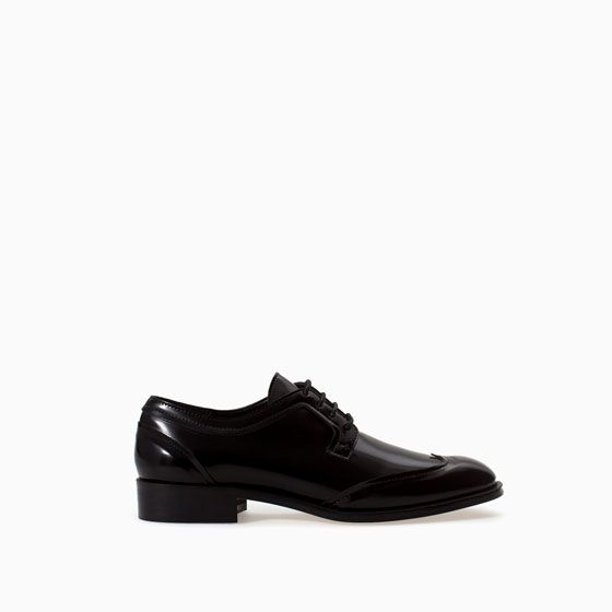 BLUCHER WITH LACES from Zara