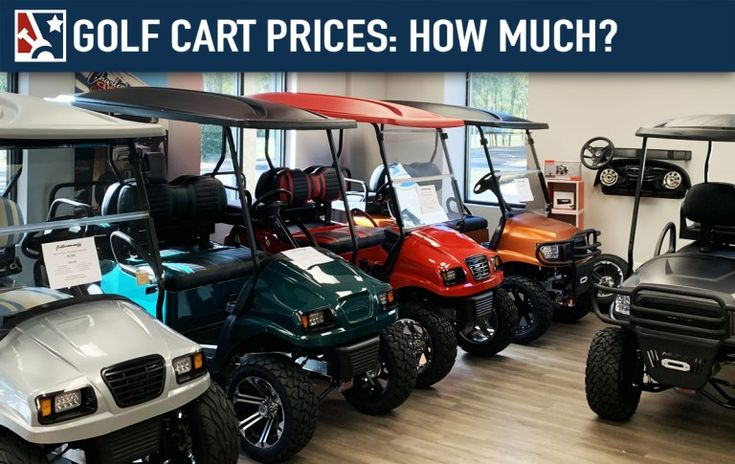 Golf cart prices how much do golf carts cost golfcarts