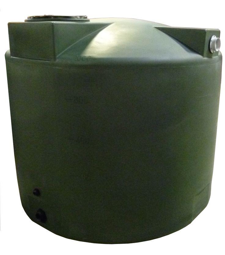 Poly-Mart Rain Harvesting Tank | 1000 Gallons | Tanks For Less