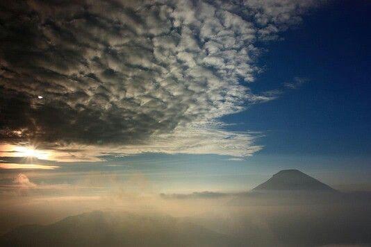 Sunrise at Sikunir mount, Dieng, Wonosobo, Indonesia