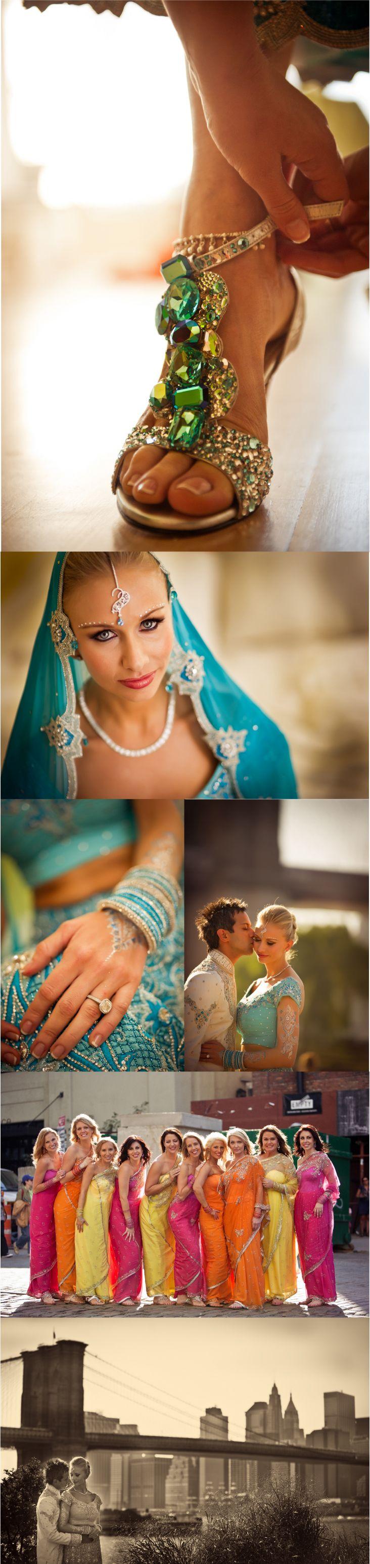 Multi-cultural wedding.