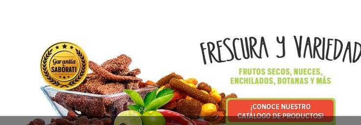 Saborati Saborati es un catálogo de alimentación descuento mexicana de comerciantes de descuento y los proveedores de una parte de los snacks más saludables de artículos de productos de fruta seca en México. Somos nutrición extrema de descuento y refresco hotspot para restaurantes, sustento de la venta por menor, negocios de foodservice y vecindad.
