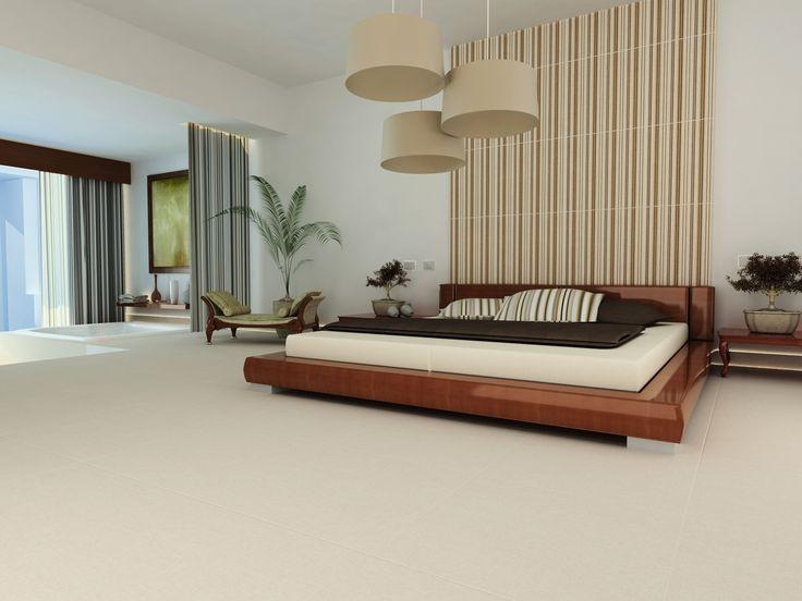 los colores claros de los pisos aportan limpieza y amplitud en la