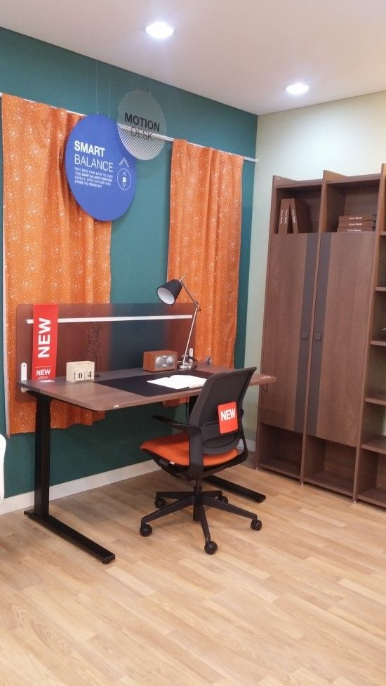 부산최대 일룸 연제점-모션 데스크(서서 쓰는 책상) : 네이버 블로그