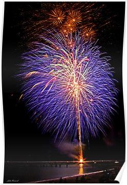 Fireworks...I never get sick of them. #Busselton #Australia $