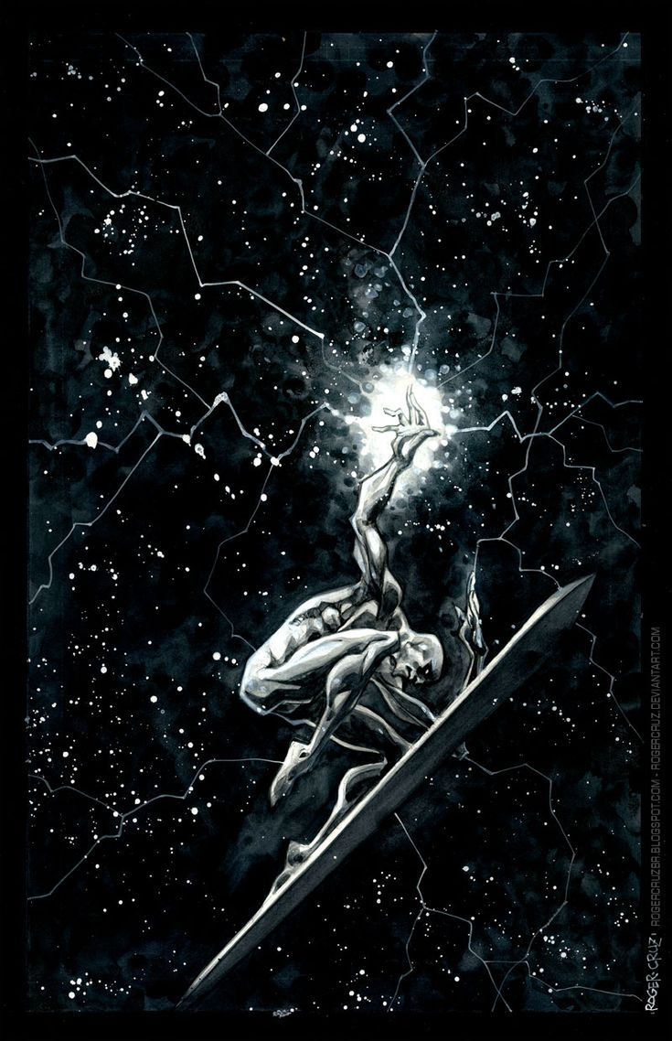 Silver Surfer by Roger Cruz